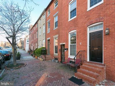 Baltimore Townhouse For Sale: 121 Warren Avenue