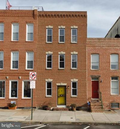 Baltimore Townhouse For Sale: 1203 Clinton Street