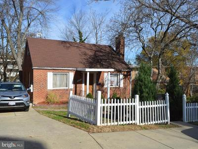 Cheverly MD Single Family Home For Sale: $329,000