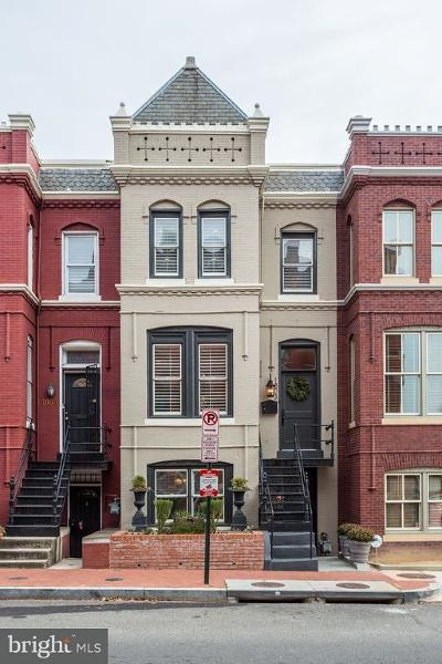 Washington Townhouse For Sale: 1803 4th Street NW