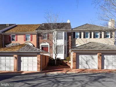 Bethesda Townhouse For Sale: 8304 Rising Ridge Way