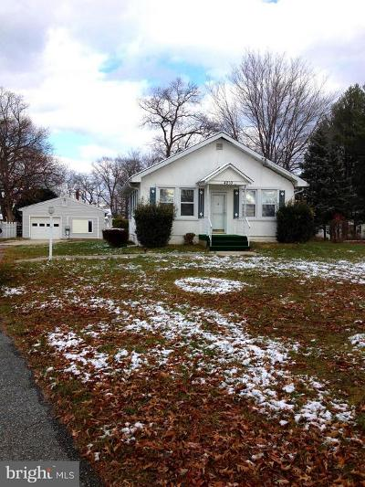 Beltsville Single Family Home Active Under Contract: 4210 Briggs Chaney Road