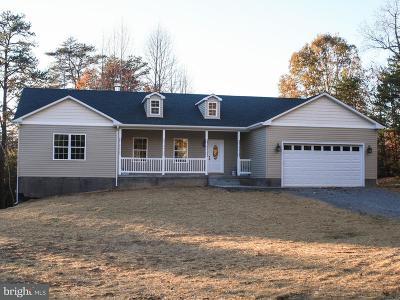 Culpeper County Single Family Home For Sale: Korea Road