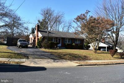 Fairfax, Fairfax Station Single Family Home For Sale: 4106 Berritt Street