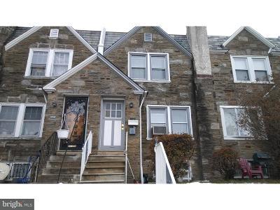 Philadelphia County Townhouse For Sale: 7702 Cedarbrook Avenue