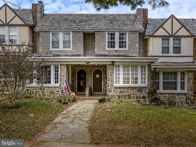 Catonsville Townhouse For Sale: 6320 Frederick Road