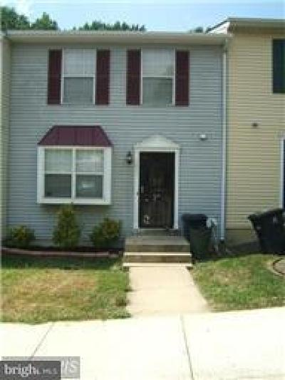 Capitol Heights Townhouse Active Under Contract: 1311 Upcot Court