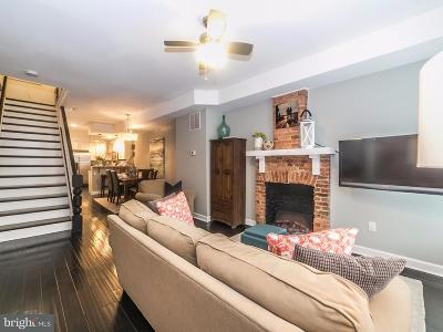 Baltimore Townhouse For Sale: 809 East Avenue S