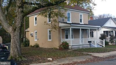 Federalsburg Single Family Home For Sale: 315 Holt Street