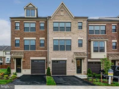 Falls Church Townhouse For Sale: 3739 Signal Knob Court