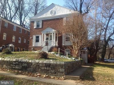 Silver Spring MD Rental For Rent: $1,375