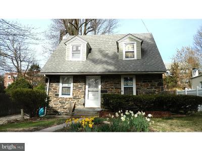 Media Single Family Home For Sale: 412 Vernon Street