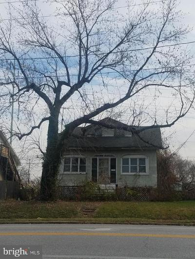 Linthicum Single Family Home Under Contract: 6829 Baltimore Annapolis Boulevard