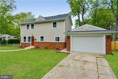 Silver Spring Single Family Home For Sale: 3919 Adams Drive