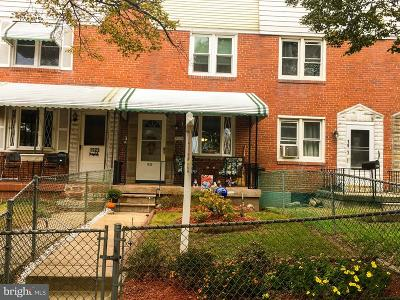 Baltimore MD Townhouse For Sale: $75,000