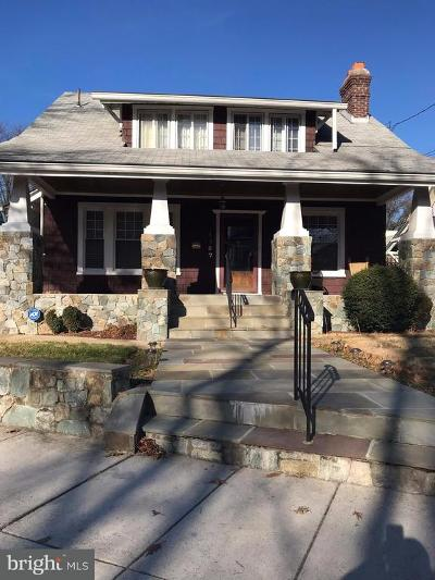 16th Street Heights Single Family Home For Sale: 1357 Montague Street NW