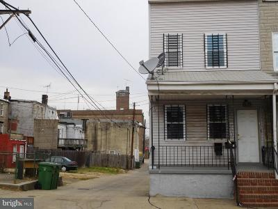 Baltimore City MD Duplex For Sale: $39,999