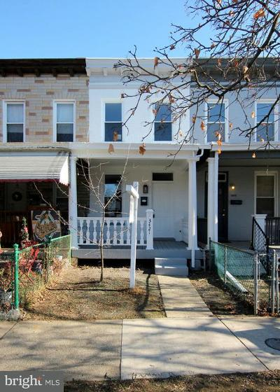 Hampden, Hampden Hon!! Townhouse For Sale: 3421 Hickory Avenue