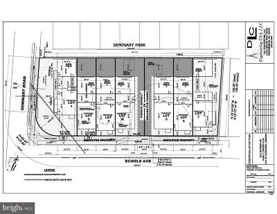 Alexandria Residential Lots & Land For Sale: 5216 Seminary Road