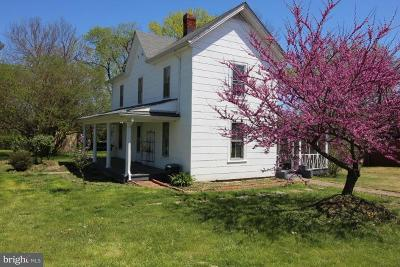 Fauquier County Single Family Home Active Under Contract: 103 West Bowen Street