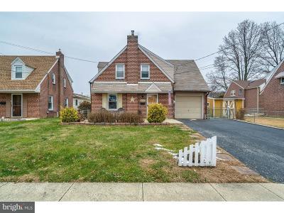 Ridley Park Single Family Home For Sale: 519 Bartlett Avenue