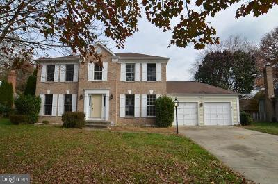 Bowie Single Family Home For Sale: 15110 Peartree Drive