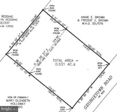 Kent County Residential Lots & Land For Sale: 8710 Georgetown Road