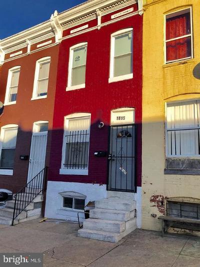 Townhouse For Sale: 1815 Montford Avenue