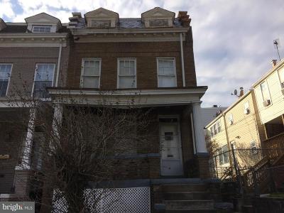 Washington Townhouse For Sale: 3120 Park Place NW