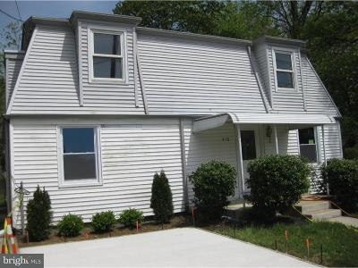 Cherry Hill Single Family Home For Sale: 470 Chapel Avenue W