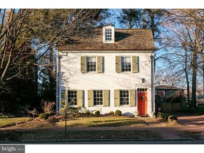 Moorestown Single Family Home For Sale: 141 E Main Street