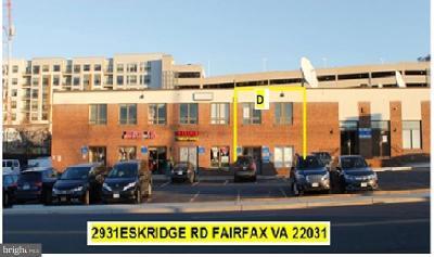 Fairfax Commercial For Sale: 2931 Eskridge Road