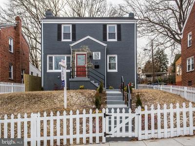 Washington Single Family Home For Sale: 311 Quackenbos Street NE