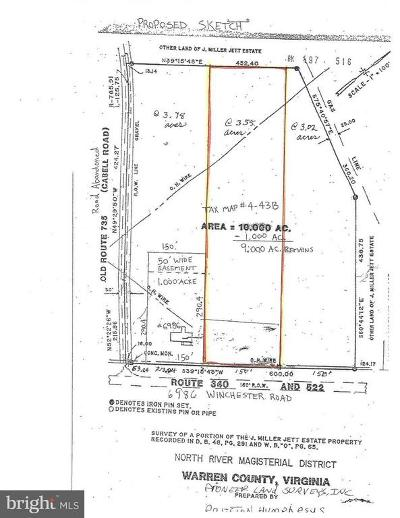 Warren County Residential Lots & Land For Sale: 6986 Winchester Road
