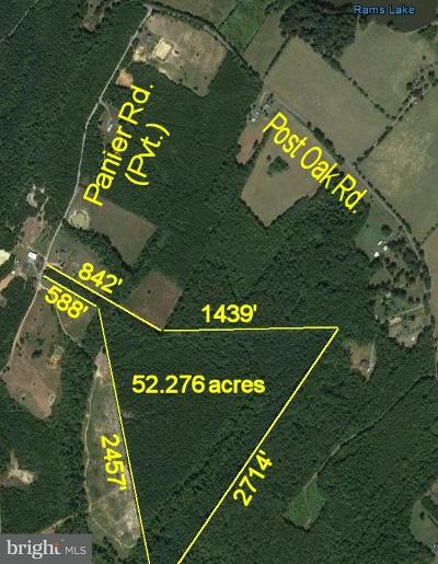 Spotsylvania Residential Lots & Land For Sale: 7741 Panier Road