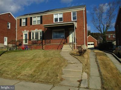Baltimore MD Duplex Under Contract: $102,000