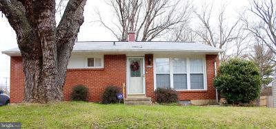 Randallstown Single Family Home For Sale: 8610 Church Lane