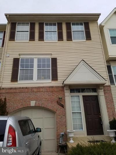 Manassas Townhouse For Sale: 7961 Flager Circle