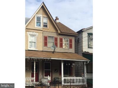 Pottstown Single Family Home For Sale: 417 Beech Street
