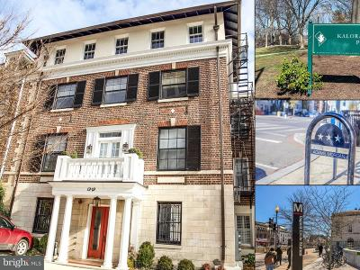 Kalorama Single Family Home For Sale: 1929 19th Street NW #4