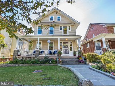 Washington Single Family Home For Sale: 1412 Delafield Place NW