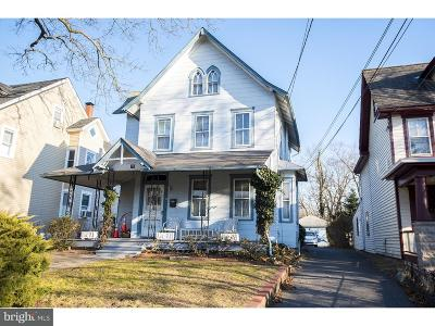 Mount Holly Single Family Home For Sale: 75 Madison Avenue