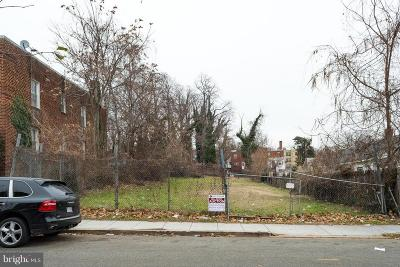 Washington Residential Lots & Land Under Contract: 10 Brandywine Street SE