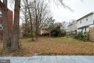 Washington Residential Lots & Land Under Contract: 4226 Dix Street NE