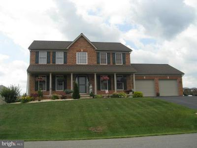 Hagerstown Single Family Home For Sale: 13609 Pulaski Drive