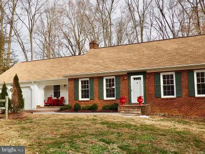 Spotsylvania Single Family Home For Sale: 8421 Robert E Lee Drive