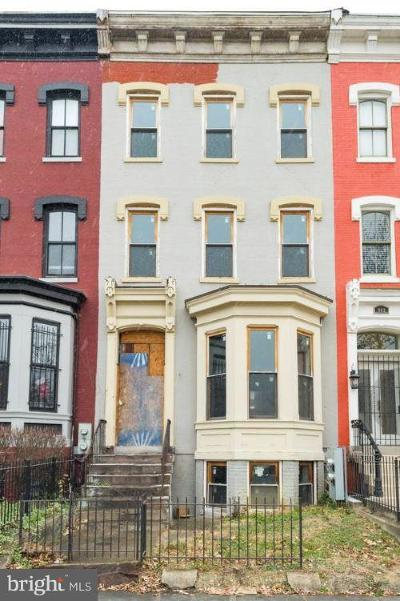 Single Family Home Under Contract: 905 R Street NW