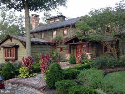 Bucks County Single Family Home For Sale: 6279 Pidcock Creek Road