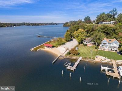 Annapolis Single Family Home For Sale: 225 Winchester Beach Drive