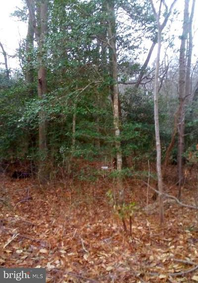 Wicomico County, WICOMICO COUNTY Residential Lots & Land For Sale: Upper Ferry Road